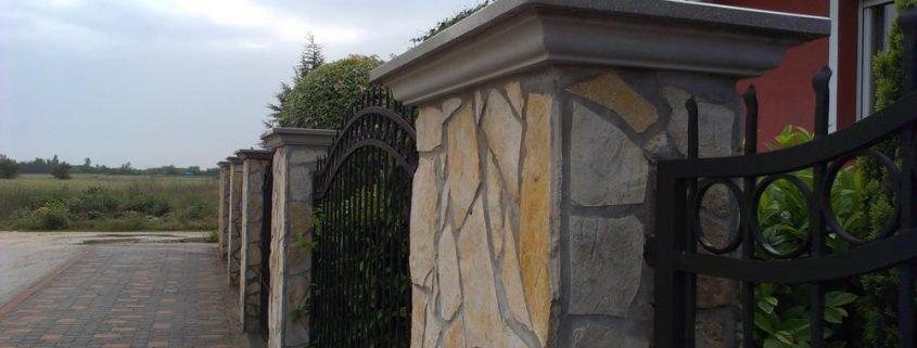 kerítés fedkő